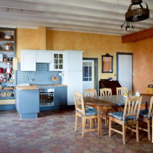 Photo cuisine gîte Grange du Bois