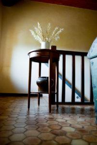 photo pallier étage Grange du Bois chambre hôte