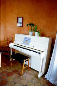 photo piano gîte
