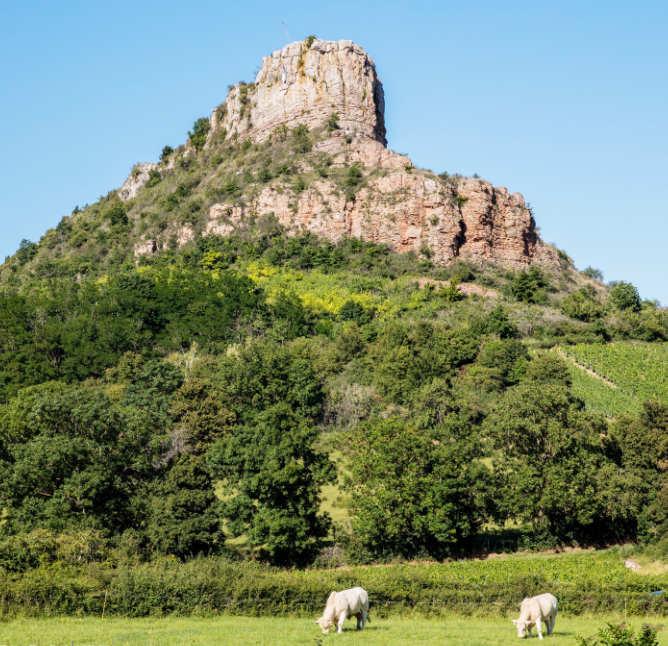 photo de la roche de Vergisson